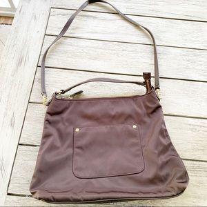 Talbots Nylon Bucket Hobo Bag